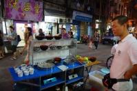 Sprzedawca ulicznego jedzenia