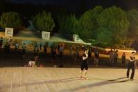 Xiamen, panie tańczące w parku