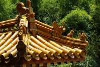 Xiamen, zdobiony dach świątyni