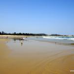 Plaża – odpływ
