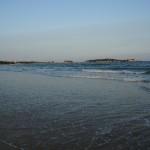 Plaża – przypływ