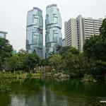 Wieżowce Hong Kongu