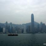 Hong Kong widziany z Alei Gwiazd