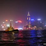 Hong Kong nocą!