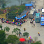 Tilt-Shift z Yangshuo