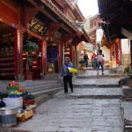Wąskie uliczki Lijiang