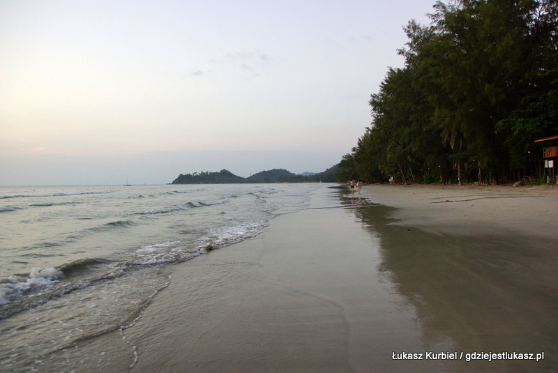 White beach na Ko Chang