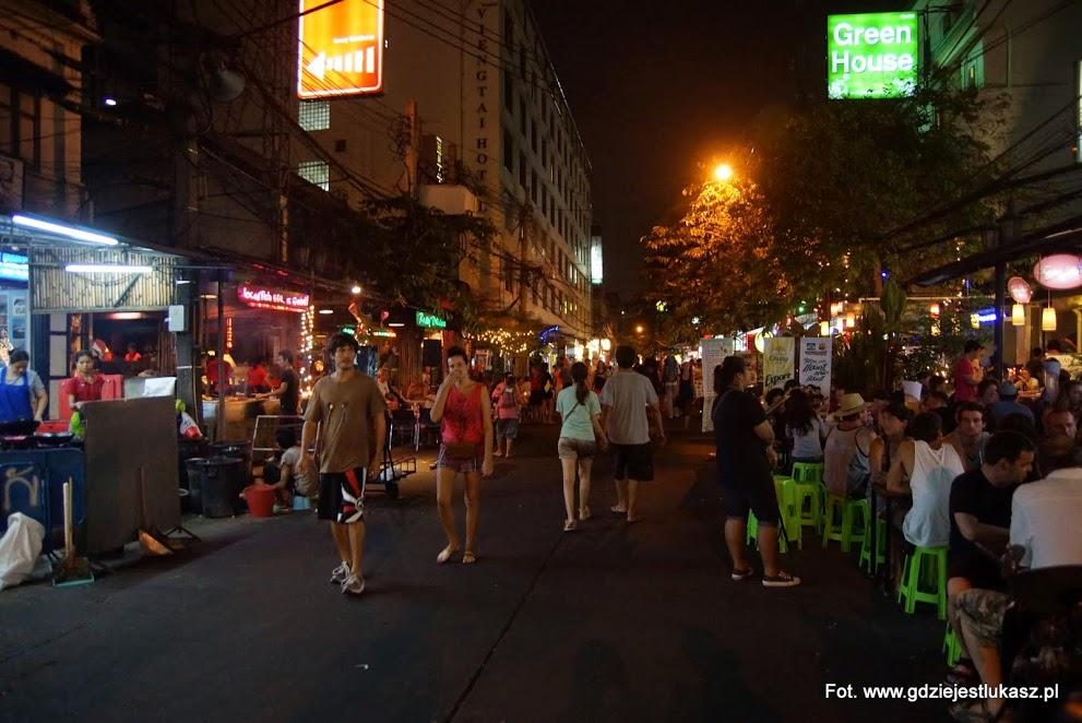 Przygody z noclegiem w Bangkoku