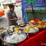 Rangun – uliczne jedzenie