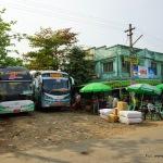 Miasteczko-dworzec w Rangun