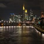 Frankfurt nad Menem nocą