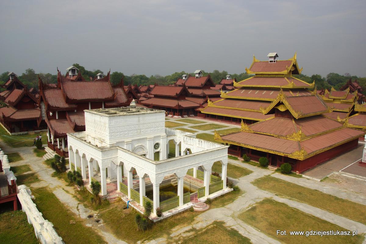 Pałac Królewski w Mandalaj