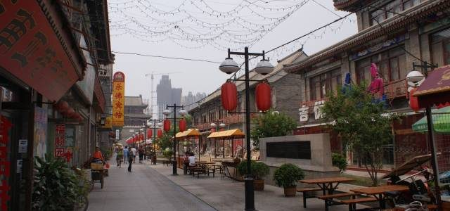 Tianjin – Pierwsze zdjęcia z Chin!