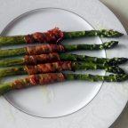 Szparagi z boczkiem