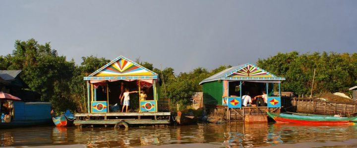 Kambodża – pływająca wioska