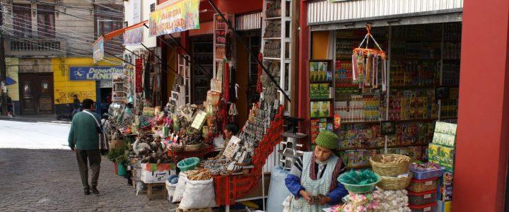 Targ Czarownic w La Paz